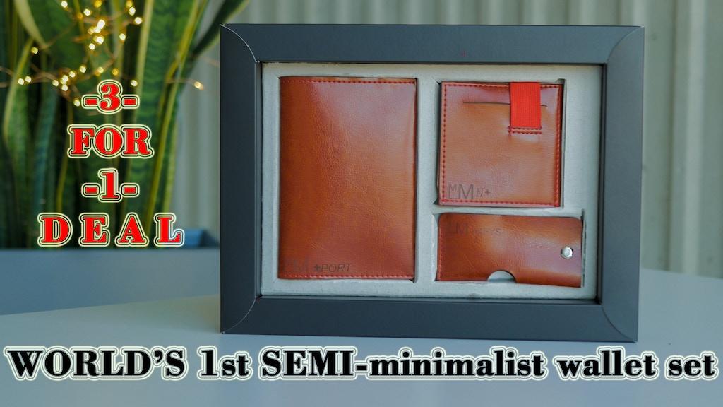 MM2+ Wallet. SEMI-minimalist Wallet Set project video thumbnail