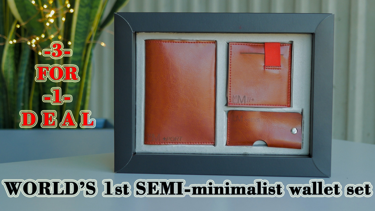 MM2+ WALLET: 12 CARDS, COINS, CASH, KEY HOLDER, PRO-RFID, ANTI-RFID, GENUINE OR ECO LEATHER, LASER ENGRAVING & WALLET GIFT BOX