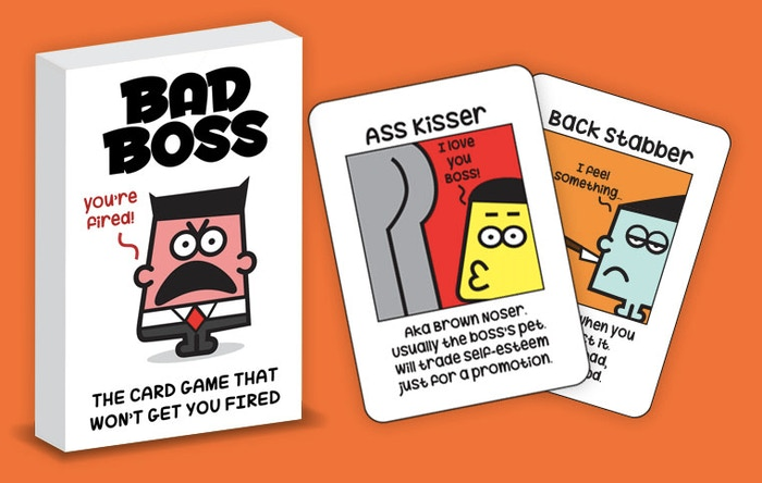 Play the card game of pairing up characters that you will recognize in any office. But beware of the bad boss!