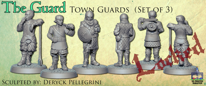 The Guard: Town Guard (Set of 3)