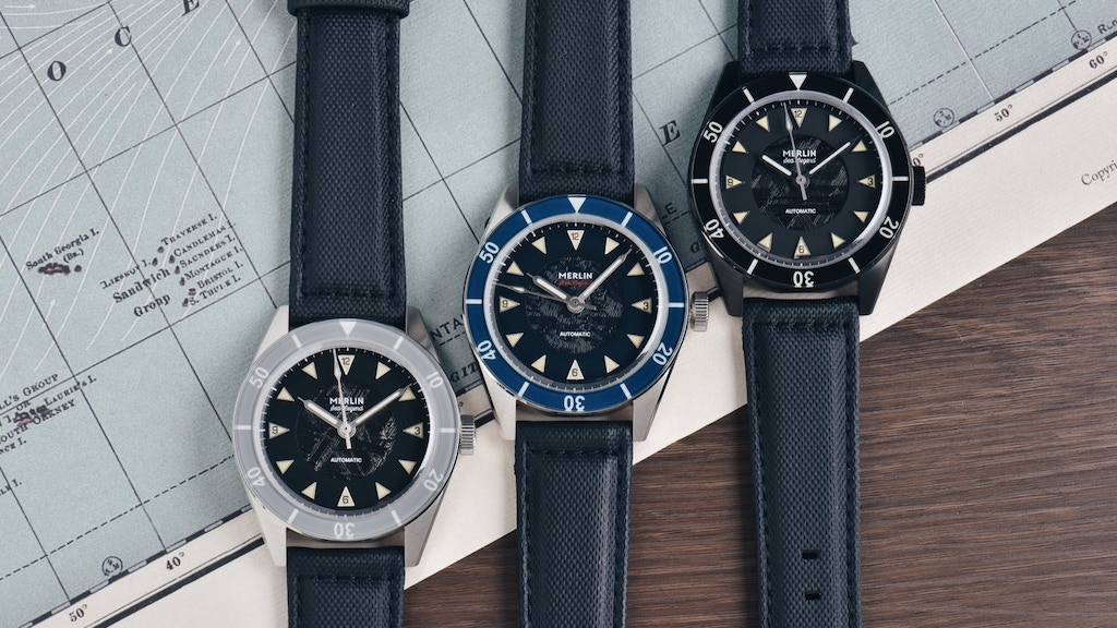 Merlin Sea Legend: Swiss Mechanical Movement Dive Watch