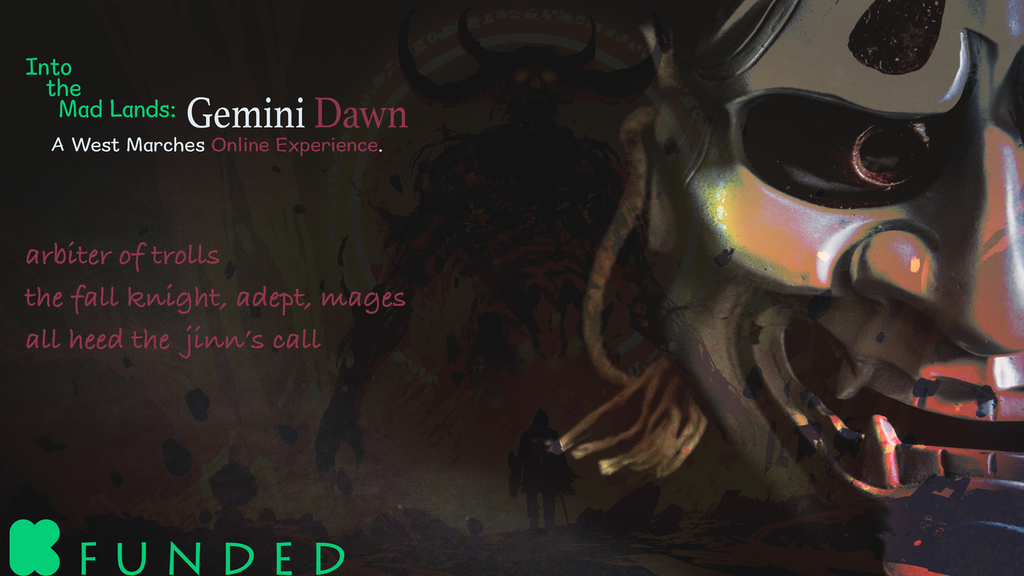 Update 13: Into the Mad Lands: Gemini Dawn! · Into the Mad Lands: Season 1