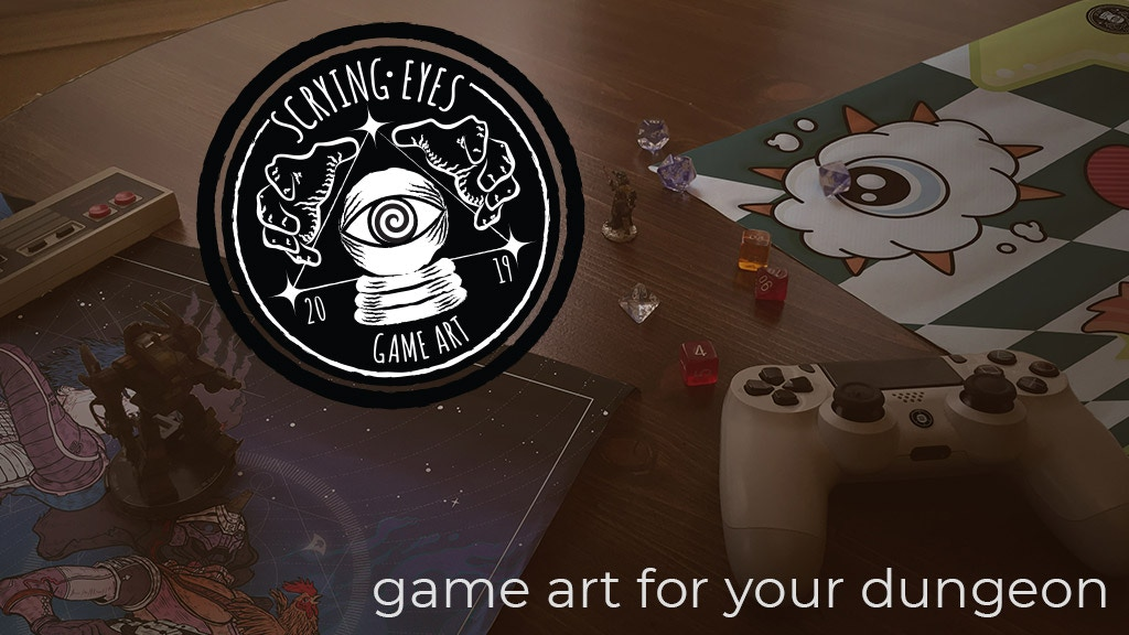 Project image for Scrying Eyes - Game Art For Your Dungeon