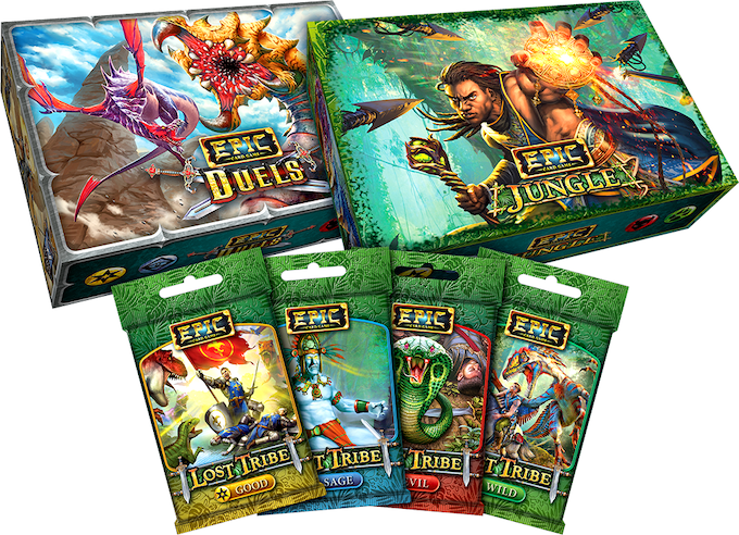 Epic Jungle with Star Realms High Alert Add-Ons