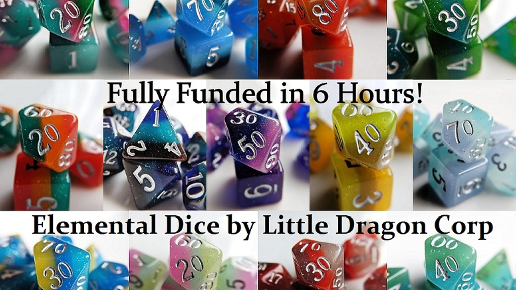 Elemental RPG Dice by Little Dragon Corp project video thumbnail