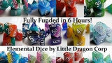 Elemental RPG Dice by Little Dragon Corp thumbnail