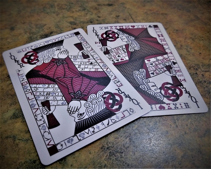 Jokers from a Prototype Deck