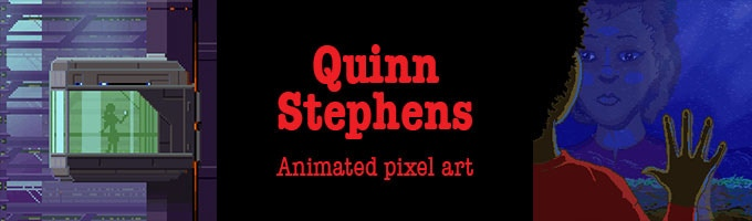 Click to see Quinn's art in motion!