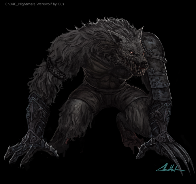 Nightmarish Ratman of the Great Sewers