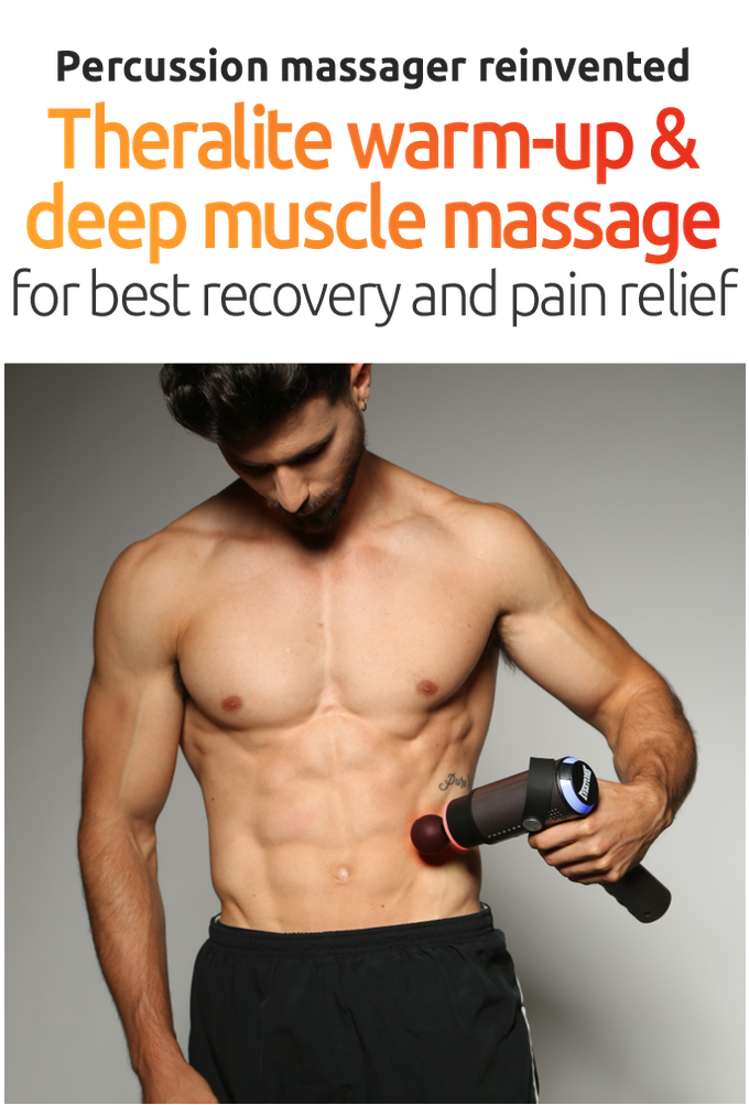 Prosage Thermo: Percussion Massager with Warm-Up Technology