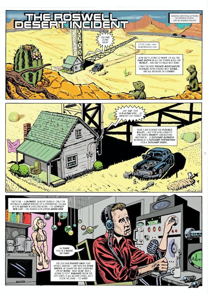 Sam Sparrow: The Roswell Desert Incident