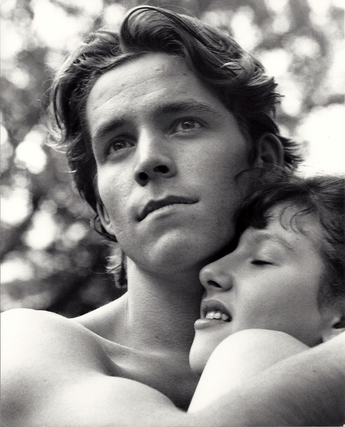 Katherine as Juliet in Romeo & Juliet, with Sean Maguire