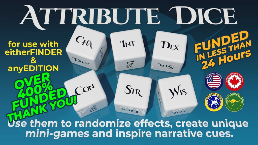 Attribute Dice project video thumbnail