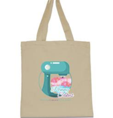 Penny Cakes Tote Bag