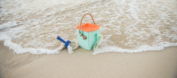 certified compostable beach toys - on a mission