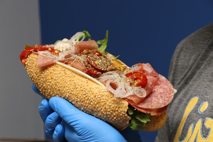 The Italian Hoagie, Ladies and Germs