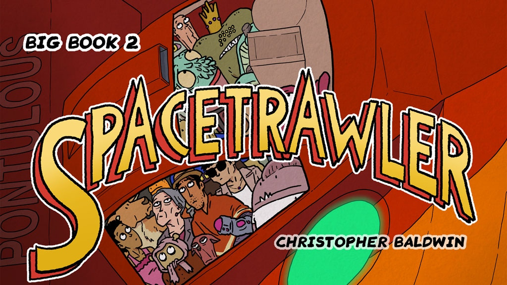 Spacetrawler BIG Book Two project video thumbnail