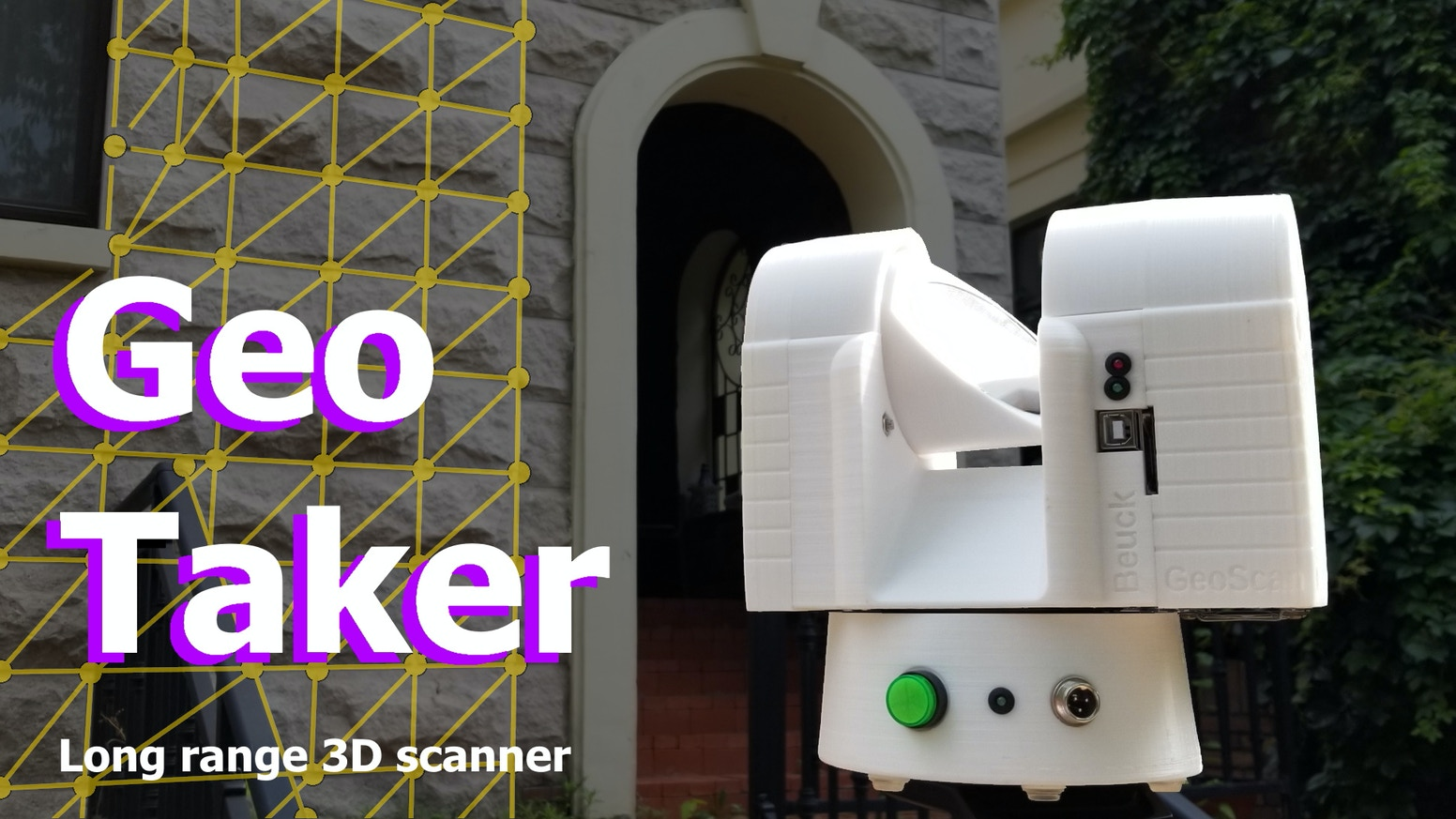GeoTaker: Capture the Geometry of large Objects