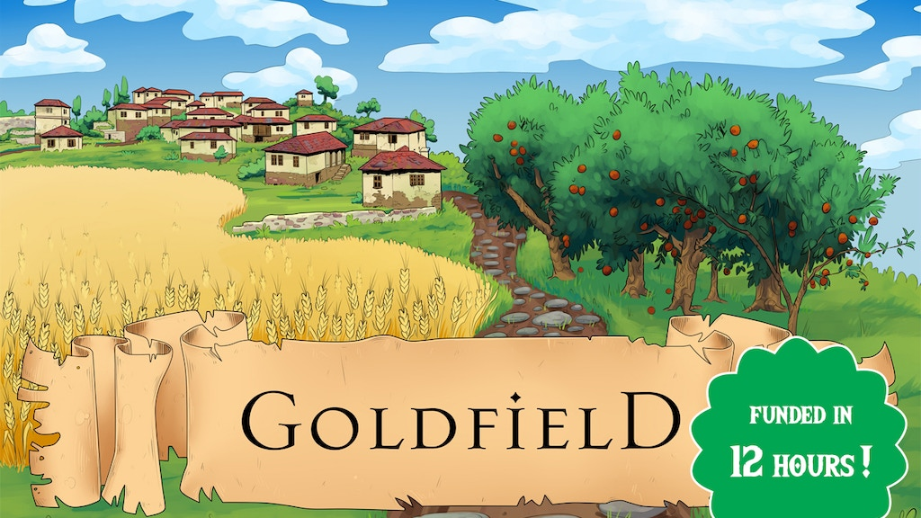 Project image for Goldfields: Medieval Village NPC