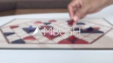 AMBUSH: A New Strategy Board Game of Pyramids & Triangles thumbnail