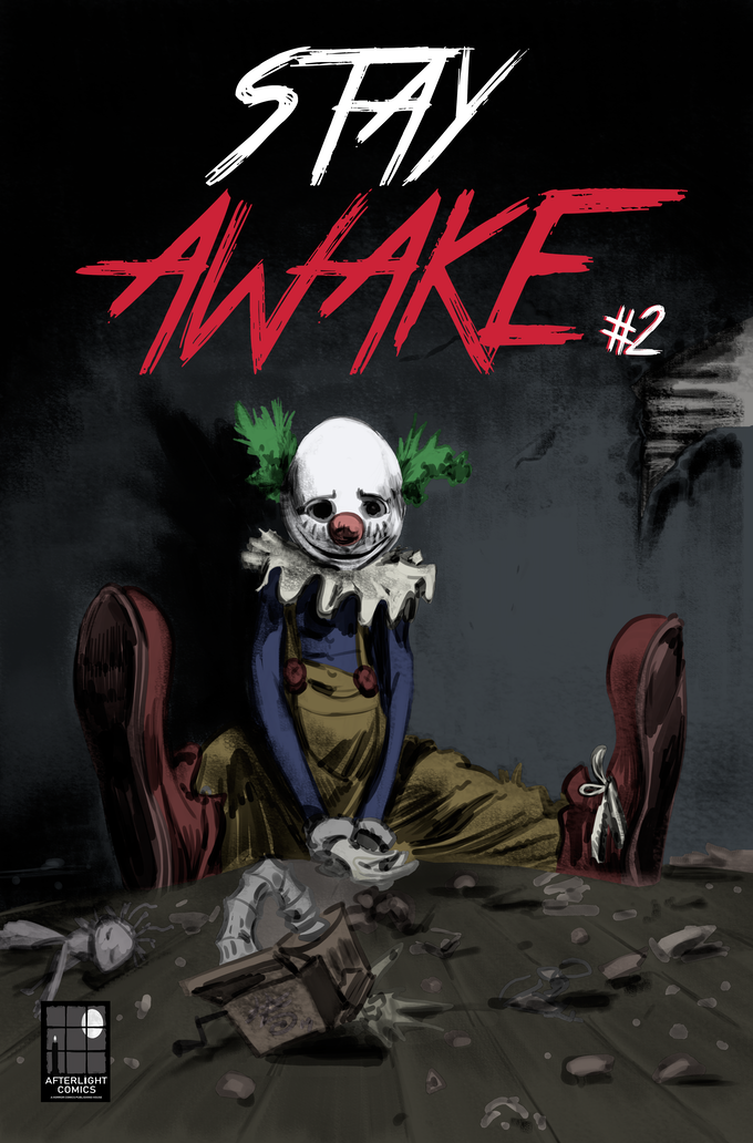 STAY AWAKE #1 - #2 | A Psychological Horror Comic Series