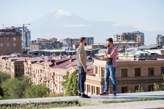 In the heart of Yerevan