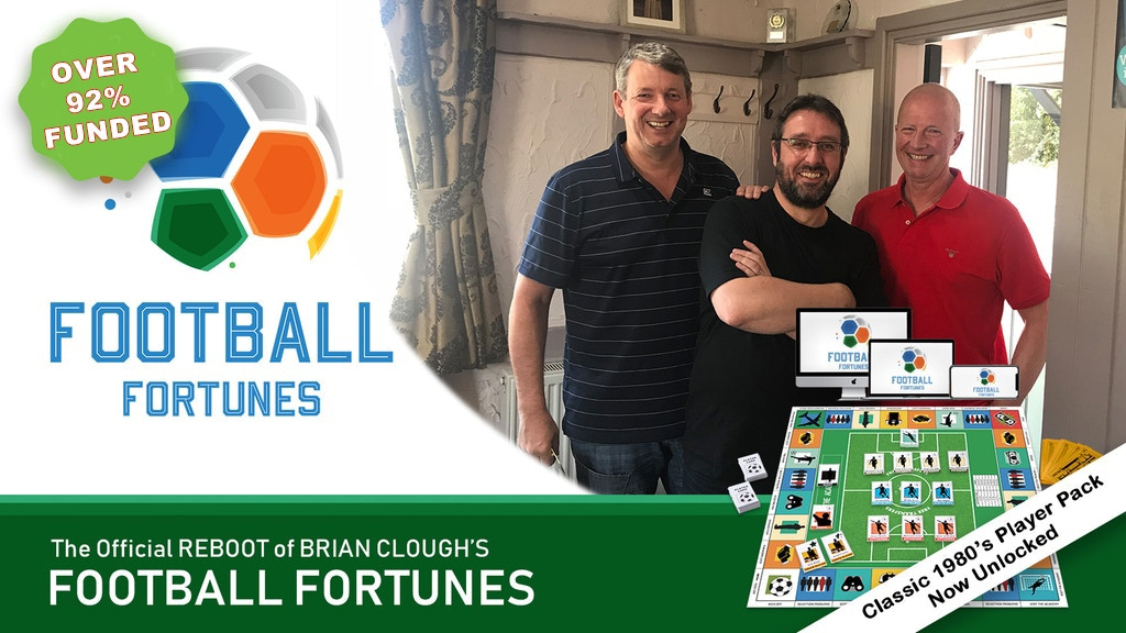 Football Fortunes 2019 Classic Board & Computer Game Reboot project video thumbnail