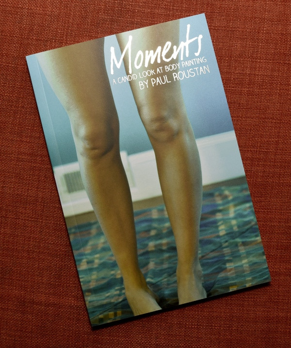"""Moments: A Candid Look at Body Painting"" Zine"