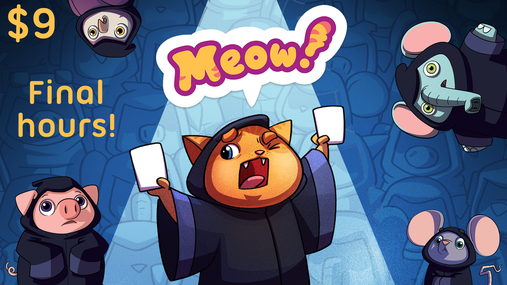 Meow! - a party game for 3-12 players project video thumbnail
