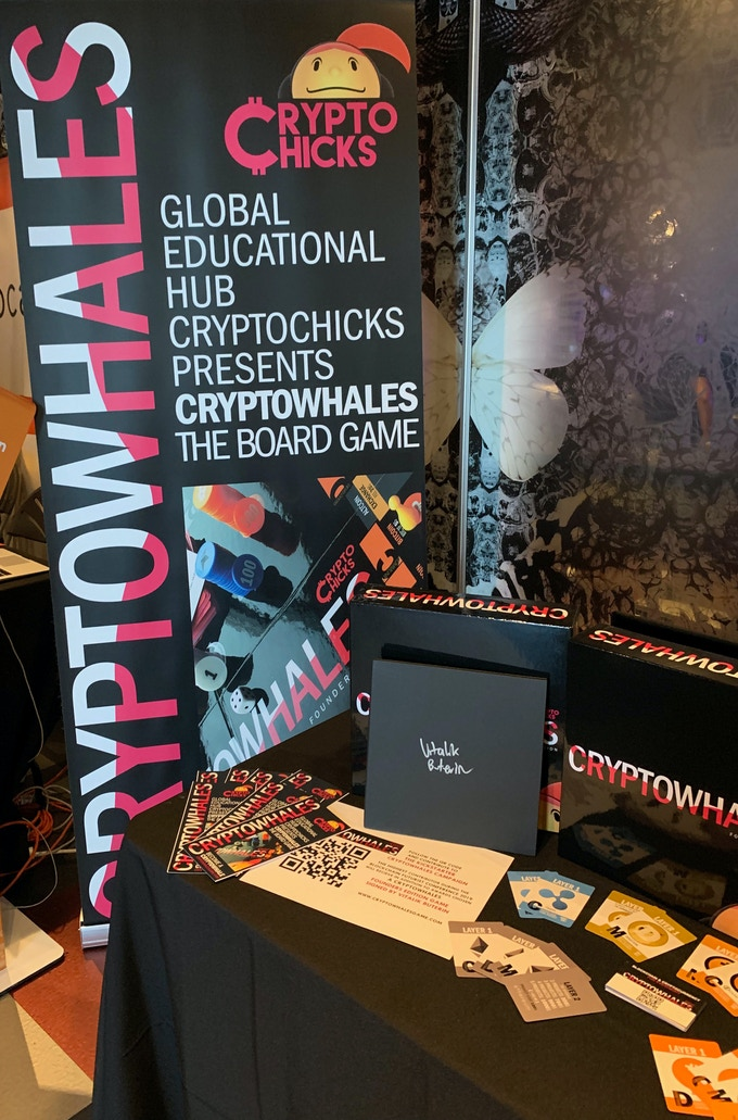CryptoWhales at the 2019 Futurist Conference