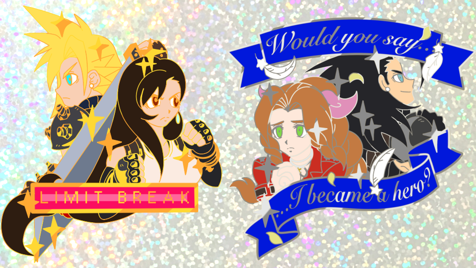 ✨ Celebrate the remake of Final Fantasy VII releasing in 2020 with these two pins! ✨