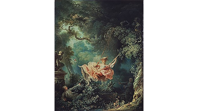 The Swing: Jean-Honoré Fragonard: 1767