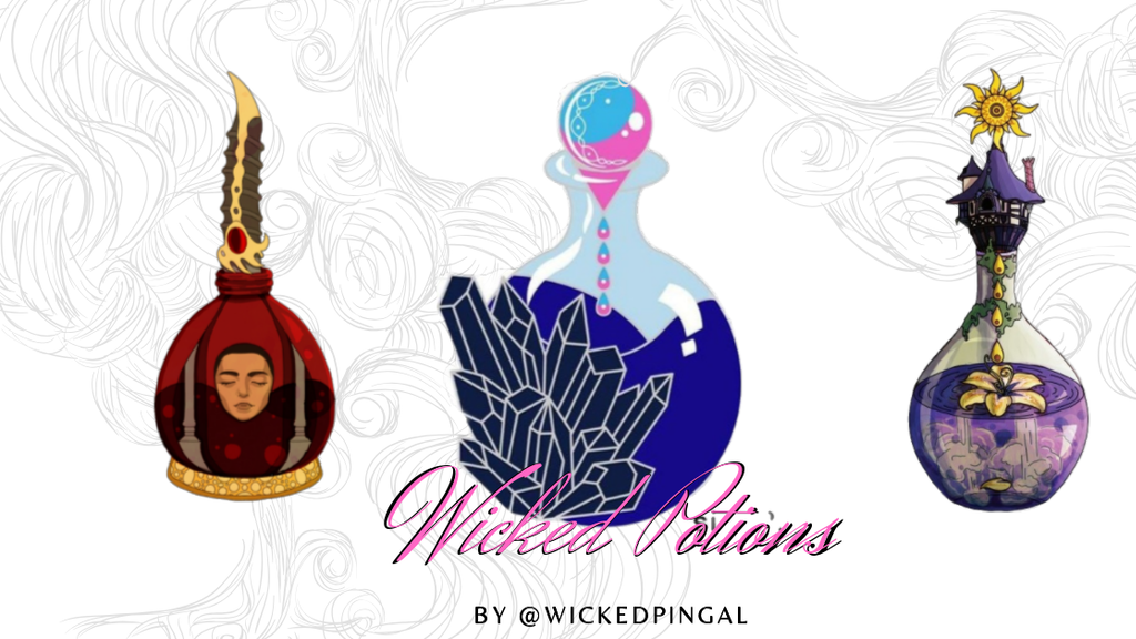 Project image for Wicked Potions Series (Hard Enamel Pins)
