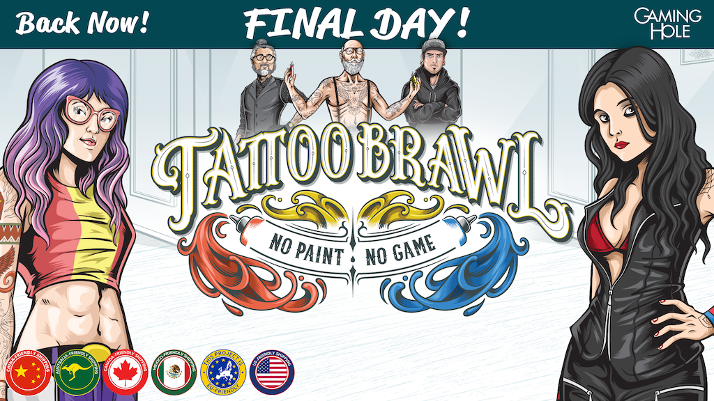 Tattoo Brawl: No Paint, No Game. project video thumbnail
