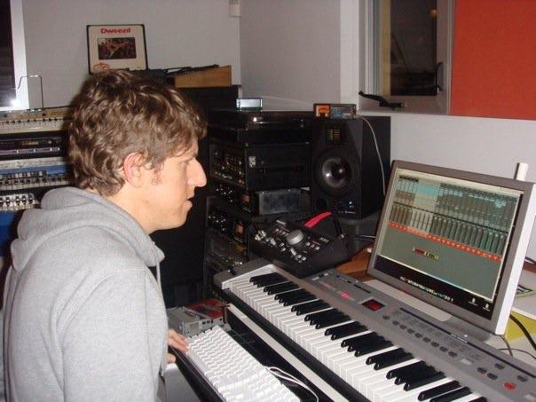 Greg hard at work!