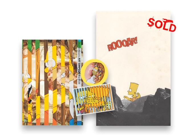- ART SIMPSON II ZINE + ORIGINAL ARTWORK 4/5 (£100.00) -