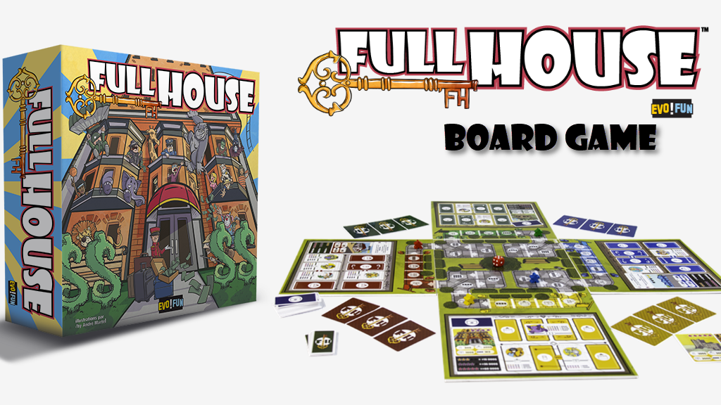 Full House™ Deluxe - A Great Board Game