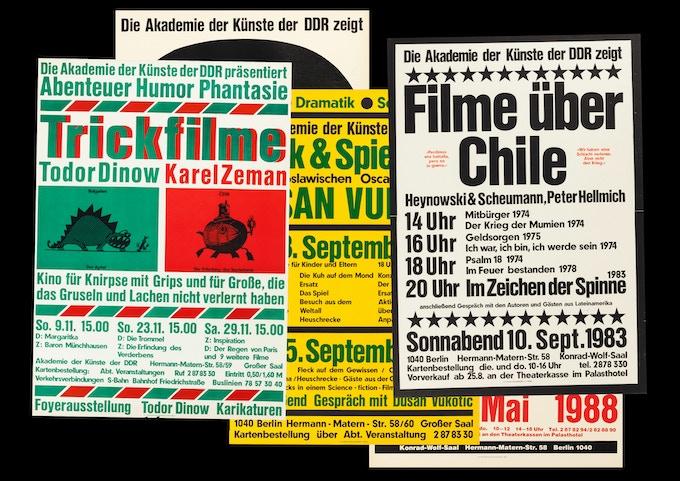 Various posters of Karl-Heinz Drescher