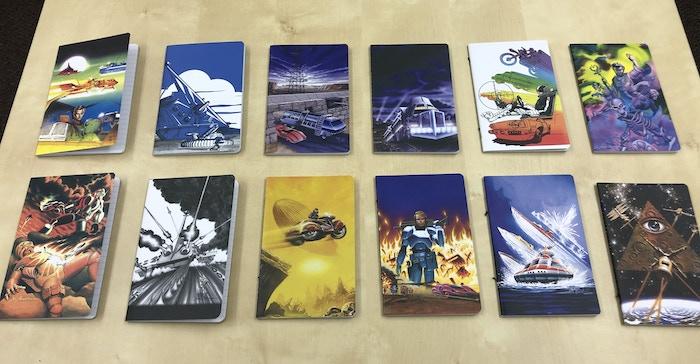 All twelve journals.