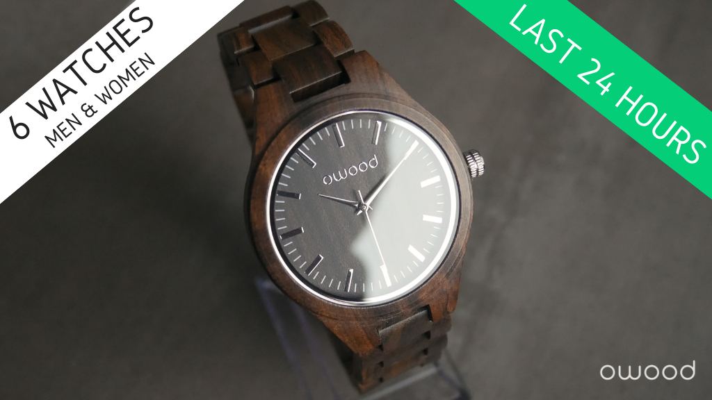 Wooden Watches Made from Reclaimed Wood & Stainless Steel project video thumbnail