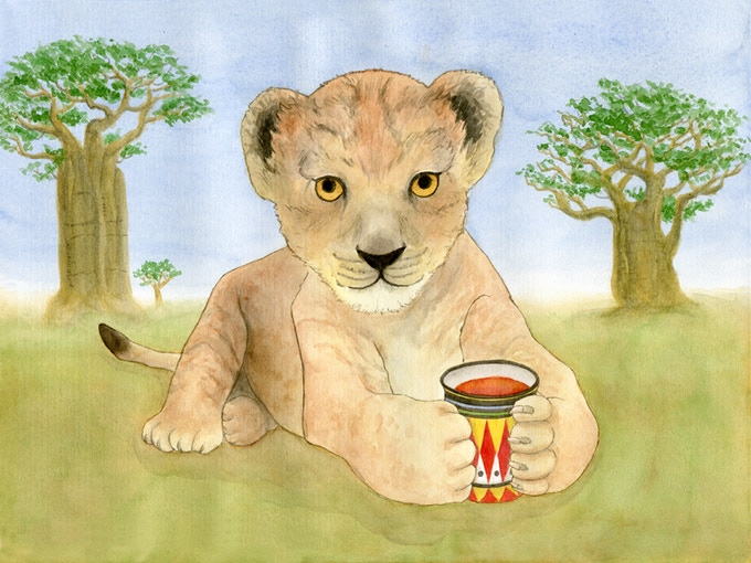 Lion with Rooibos