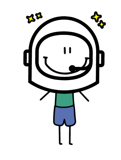 Astronaut Character - get yourself a custom made one in our REWARDS