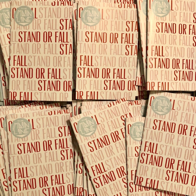 "Stacks of Issue One: ""The Stand or Fall Issue"" arrived on July 12, 2019."