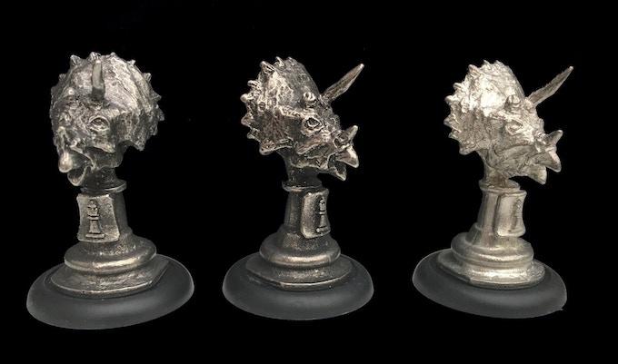 Triceratops Bust- Queen Piece