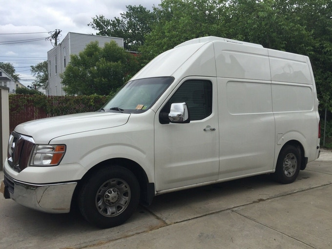 The $15.495 van we would like to get with your help!