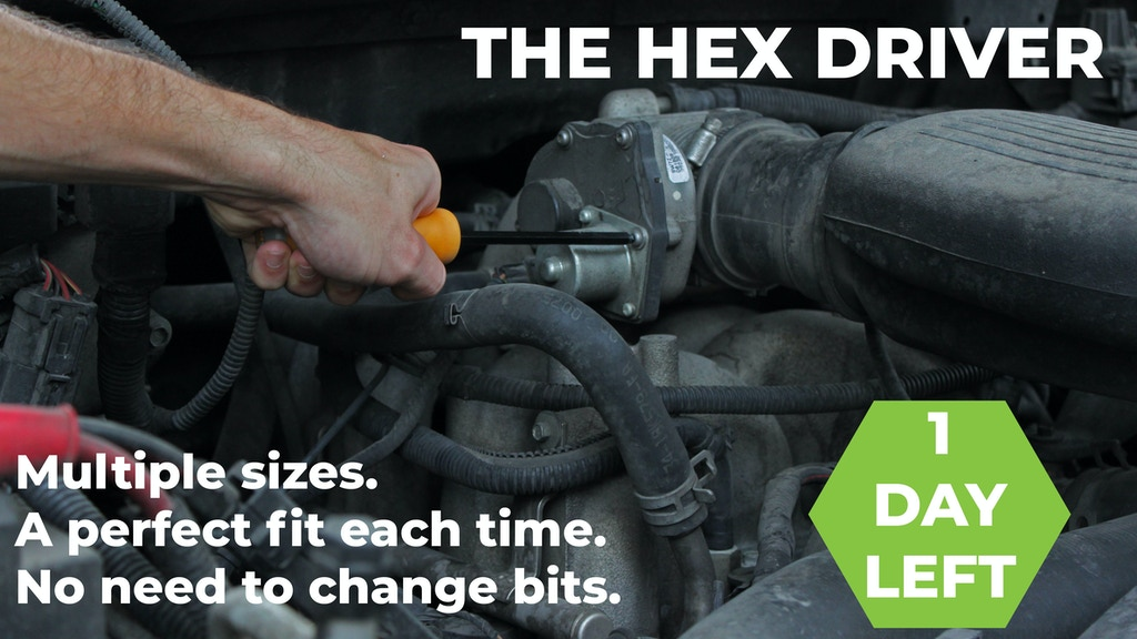 Hex Driver | World's Only All-In-One Hex Key Screwdriver project video thumbnail