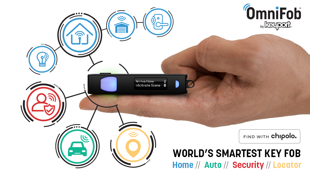 OmniFob: World's Smartest Key Fob - Control Your Everything project video thumbnail