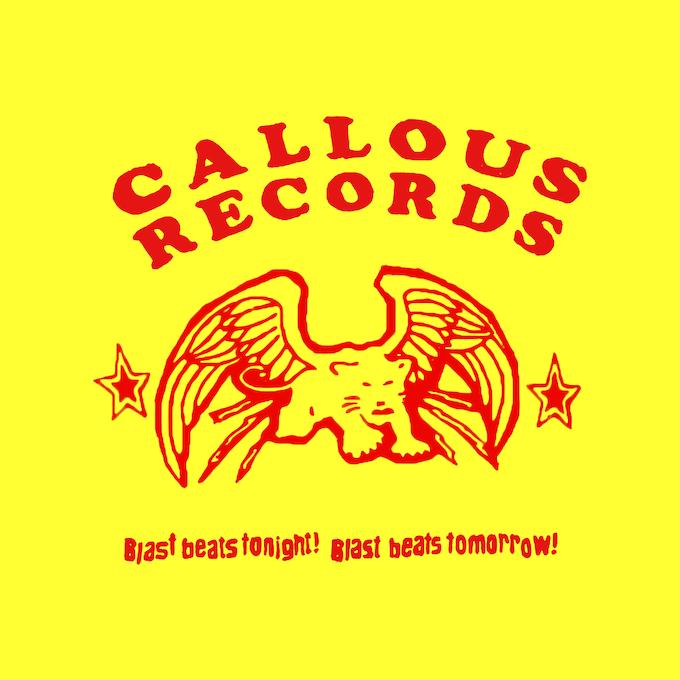 Callous Records Tshirts