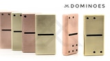 Dominoes - Brass or Copper thumbnail