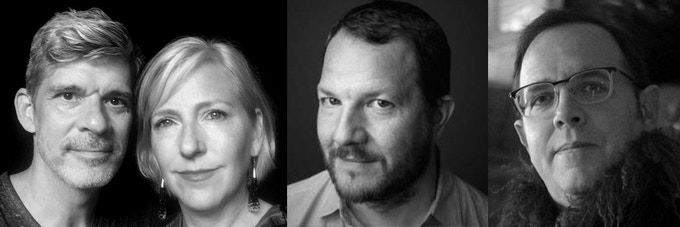 Stephan Hillerbrand+Mary Magsamen, Kirk Lynn, Peter Stopschinski
